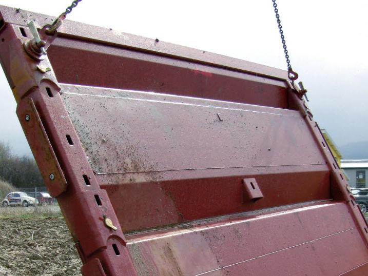 Gigant grøftekasse i stål